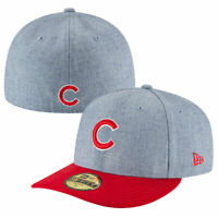 Chicago Cubs New Era 59FIFTY 5950 Change Up Low Crown Fitted Hat Size 7 1/2 NEW