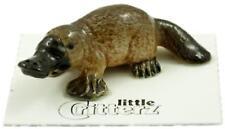 "Little Critterz Miniature Porcelain Animal Figure Platypus ""Aussie"" LC832"