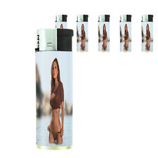 California Pin Up Girl D3 Lighters Set of 5 Electronic Refillable Butane