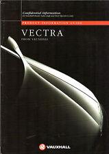 Vauxhall Vectra 1995-96 UK Market Salesmans & Fleet Customers Sales Brochure