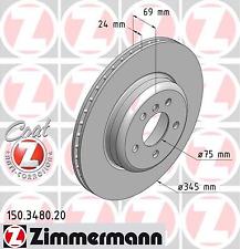 Bremsscheibe (2 Stück) COAT Z - Zimmermann 150.3480.20