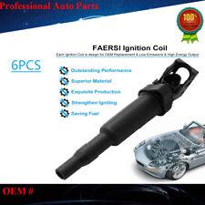 0221504470 6x Ignition Coils For BMW 128i 335is 528i 535i