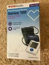 BLOOD PRESSURE MONITOR CVS SERIES 100 SOFTFIT CUFF FOR UPPER ARM NEW IN BOX