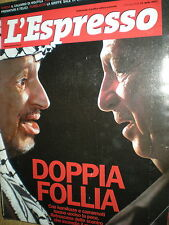 L'Espresso.Arafat & Co,Erich Wolfgang Korngold,Barry McGee,hhh