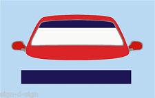 PLAIN DARK BLUE SUN STRIP CAR DECALS GRAPHICS SS045