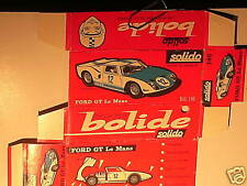 REPLIQUE BOITE FORD GT 40 LE MANS SOLIDO 1966
