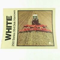 White Farm Equipment Disk Sales Brochure Models 250 and 264 Advertising
