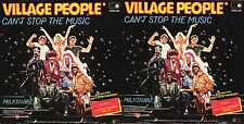 DISCO 45 GIRI    VILLAGE PEOPLE - CAN'T STOP THE MUSIC / MILKSHAKE