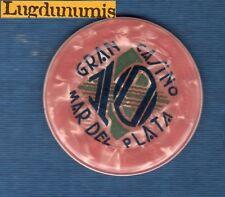 Jeton Casino - Gran Casino Mar del Plata 10 Rose