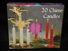 "Angel Chime Party Candles, 1/2"" Diameter x 4"" Tall, 20 in New Box, Pink"