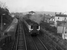 PHOTO  1977 MPD TRAIN LEAVING WHITEHEAD IN THE DAYS OF MANUAL SIGNALLING AND SIN