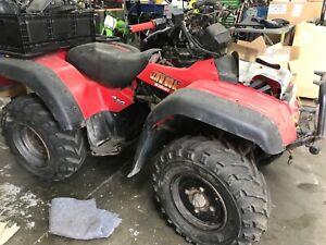 Suzuki ATV quad 300 4x4 good for parts or restore NO RESERVE