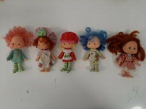 Vintage 1979 Lot of 5 Strawberry Shortcake Dolls - Lot 3