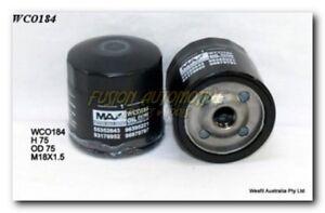 Wesfil Oil Filter for Holden Volt 1.4L 2012-on WCO184
