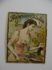 1880s RECEPTION FLAKES United States Baking Company Cereal Victorian Trade Card