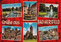 Grüße aus Bad Hersfeld ,Ansichtskarte, 1970 gelaufen