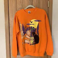 Vintage Sweatshirt Adult Halloween Crew Neck AS Rare