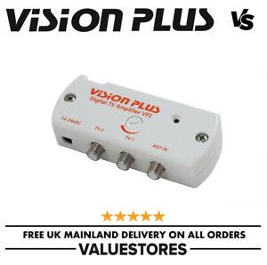 Vision Plus VP2 12-24v Caravan / Motorhome TV Aerial Signal Booster Digital Amp