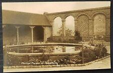 An original Titanic related postcard showing John Philips memorial cloister.