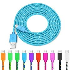 Micro Usb Data Sync Charger Cable Aluminum Braided For Android Phone Accessories