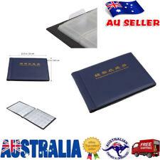 240 Slots Coin Holder Album Money Penny Collecting Pocket Storage Folder Book AU