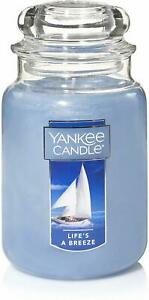 Classic Jar Candle by Yankee Candle, 22 oz (Large) Life's A Breeze