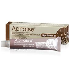 APRAISE 20ml Professional Light Brown 3.1 Eyelash and Eyebrow Tint - Beeswax Dye