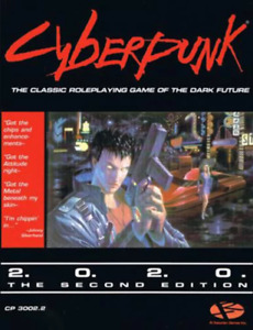Cyberpunk 2020 Second Edition Roleplaying Game NEW