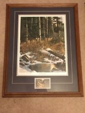 """Derk Hansen """"Land of the Free"""" - signed & numbered 28/3500 limited edition Wolf"""
