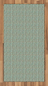 Traditional Nordic Area Rug Flat Woven Accent Rug Home Decoration 2 Sizes
