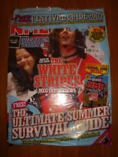 NME 2005 MAY 28 WHITE STRIPES OASIS MAXIMO PARK KYLIE
