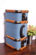 Vintage Koffer Oldtimerkoffer Kinderkoffer Geschenkkiste / 4 Gr. / S / Antiqu