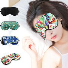 Luxspire Silk Eye Sleep Mask Travel Sleeping Soft Eye Cover Light Blocking Mask