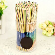 New Multicolor Craft 4 In 1 Colored Drawing  Rainbow Color Pencils Painting