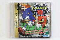 Sonic R SEGA Saturn SS Japan Import US Seller G7654 B