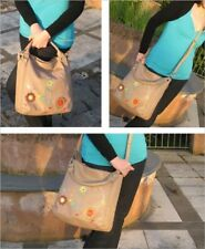 Vendula DANDELION MUSICAL HOBO BAG Girls Ladies Hand Bag RRP £70 NEW STONE