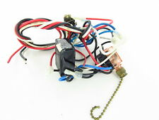 #8 - Used SMC Ceiling Fan Wiring Harness with Switchs/Capacitor/Parts