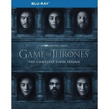 GAME OF THRONES SEASON 6 BRAND NEW SEALED BLU-RAY SIXTH SEASON REGION FREE