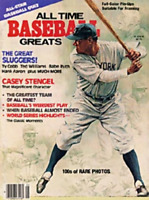 Babe Ruth Unsigned 1980 All-Time Baseball Greats Cover Magazine