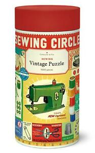 Cavallini - Vintage Jigsaw Puzzle - 1000 Pieces - 55x70cms - Sewing Circle