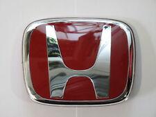 Original Honda Type R Emblema Insignia Rojo H Rejilla 80mm X 65mm 75701 S1A