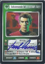Star Trek CCG - Subcommander Tal - Jack Donner (deceased) - signed card