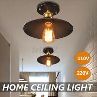 E26/E27 Industrial Ceiling Light Pendant Fixture Lamp Home Living Room