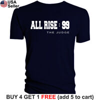 Aaron Judge T-Shirt All Rise New York Yankees Graphic NY NYC The 99 Men Cotton