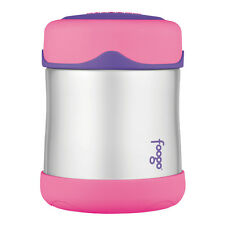 Thermos Foogo Insulated Stainless Steel Vacuum Food Jar Baby Pink - 184694
