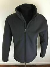 "EDDIE BAUER ""Gamut One Studios"" Graphic Gray Fleece Lined Jacket Men's Size L"