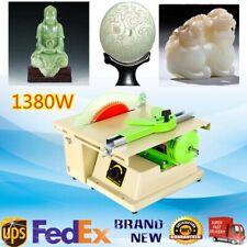 New listing 110V Jewelry Rock Polishing Buffer Bench Lathe & Polisher Machine Set On Sale