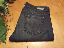 WOMENS AG ADRIANA GOLDSCHMIED TOMBOY PETITE RELAXED STRAIGHT JEANS 31 X 28 NWOT
