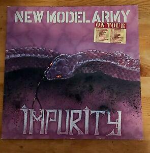 New Model Army – Impurity - 1-Vinyl - LP - RAR - Auktion!