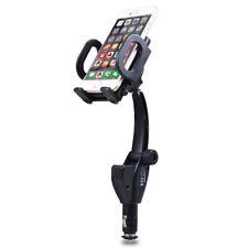 NEW Dual 2 USB Car Cigarette Lighter Charger Mount Holder for Mobile Phone GPS